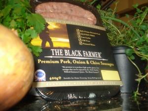 The Black Farmer sausage