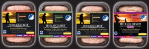 The Black Farmer Freedom Food Sausages